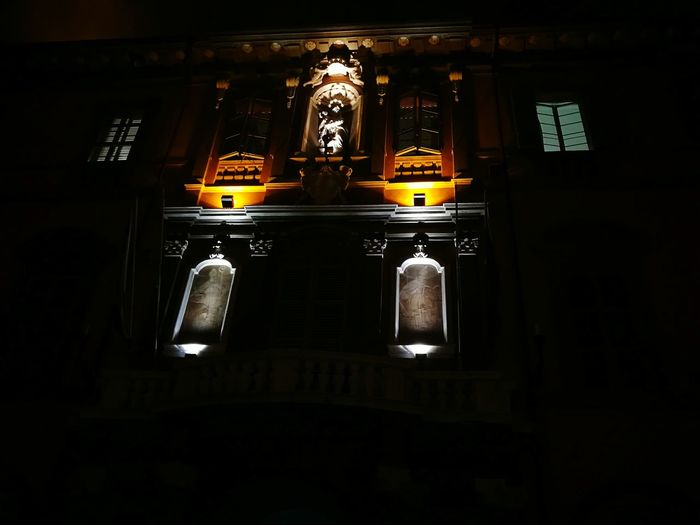 Imola, City Nightlife Ispirations Night Photography Architecture Santi Arte No People Black