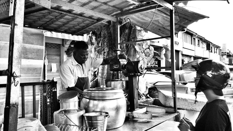 Iced cendol is always good for a hot sunny day weather! Cendol Iced Iced Cendol Indian Cendol Hotday Hot Day Icecendol Street Seller Blackwhite Black And White Collection  EyeEm Best Shots - Black + White Blackandwhitephotography Black And White Photography Blackandwhite Photography Black&white Black & White Black And White Blackandwhite Hot Weather Cold Snack Shaved Ice Showcase: January January Here Belongs To Me