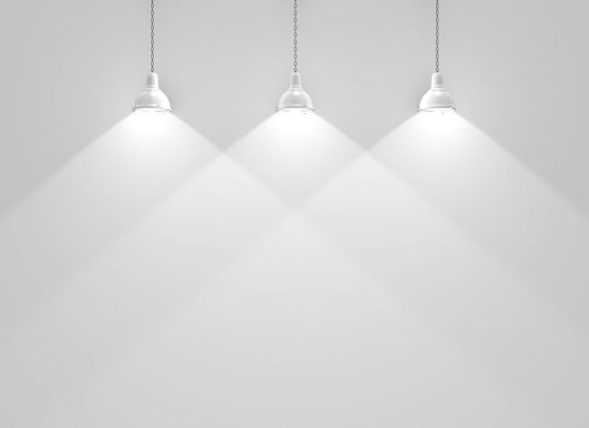 Three wall lamps empty background Lamps Blogphotography Product Photography Exhibition Wall Art Illustration Creativity Scene Display Museum