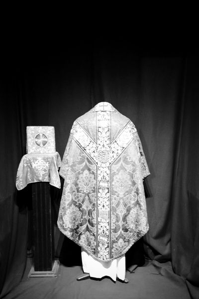 Indoors  No People Day Ecclesiastic Robes Vestments B&w