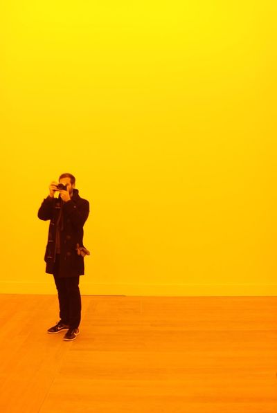 No filter room Light Moderna Museet Olafur Eliasson TheWeekOnEyeEM Yellow Art Capture The Moment