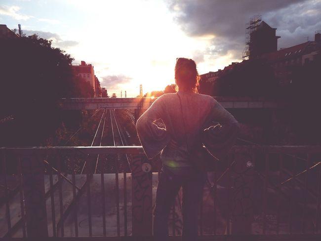 EyeEmNewHere Sunset Sky Berlin StandingTALL Hereandnow