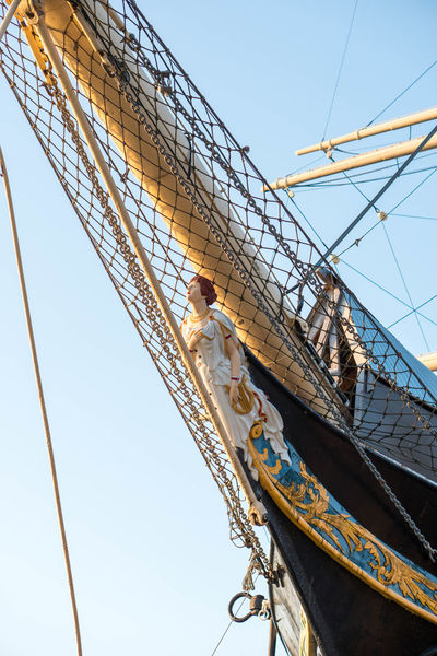 Low Angle View Built Structure Outdoors Pommern Mariehamn Visitmariehamn Visit Aland Islands åland  Aland Islands Nautical Vessel Yacht Made Of Wood Wooden Women Sony Photography Sonya6300