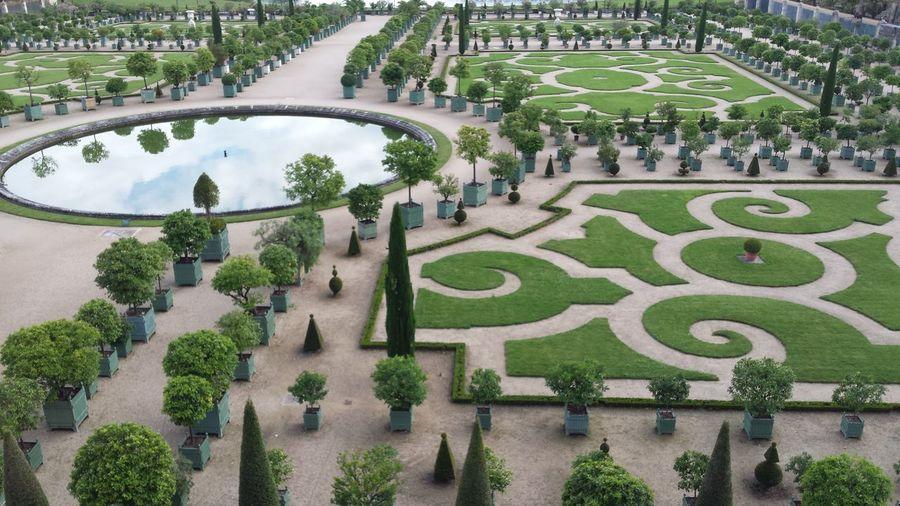 Versailles Castle Gardens