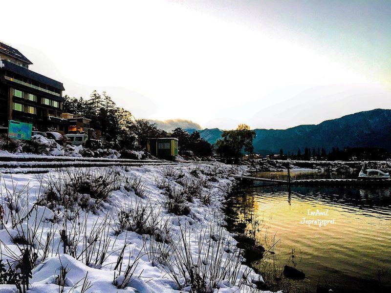 Cold Temperature Mountain Beauty In Nature Outdoors Landscape Fujixa1 Streetphotography Japan Fujifilm_xseries Fujifilm Traveling Travel Lake