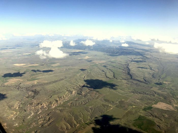 Near Billings, Montana USA Aerial Shot Blue Sky White Clouds Northwest USA The Week on EyeEm USA Aerial Aerial View Background Backgrounds Beauty In Nature Blue Sky Blue Sky Background Cloud Shadows Day Environment Landscape Nature No People Non-urban Scene Outdoors Scenics - Nature Sky Springtime Tranquil Scene Tranquility