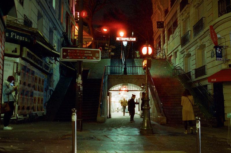 35mm Film Nightphotography Nikon F4 Cinestill Cinestill800t City Film Photography Streetphotography