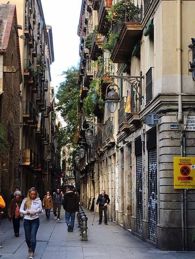 Barcelona History Narrow Street Old Streets Streets Of Barcelona These Streets