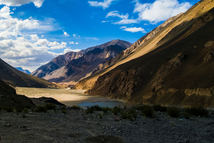 Cloud India Jammu And Kashmir Ladakh Landscape Leh Mountain Mountain Range Nature Sky Travel