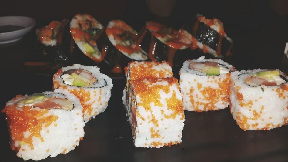 i love sushi more than you 😁 Sushi Time Oishi  First Eyeem Photo