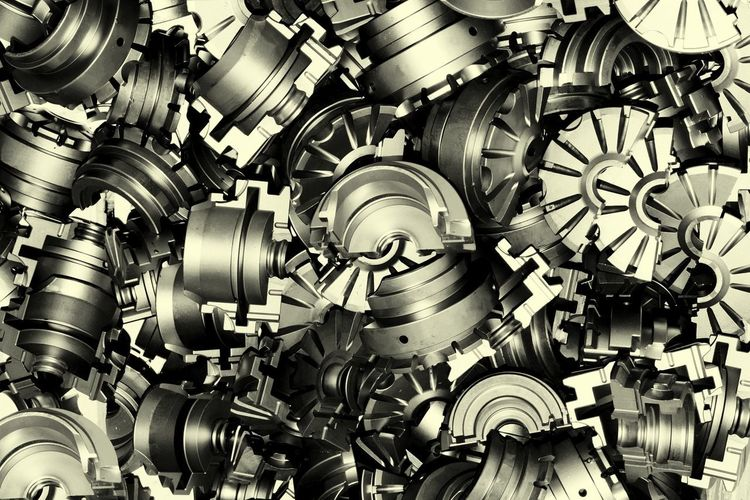 Backgrounds No People Steel Close-up Day Complexity Mashine Parts Many Colection Curve Form Industrial Industry Industrial Art Black And White Technology Industrial Photography Indoors  Mass Matirial Metal Metal Industry Large Group Of Object Making Manifacture