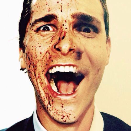America Psycho Self Portrait Enjoying Life psicopata americano