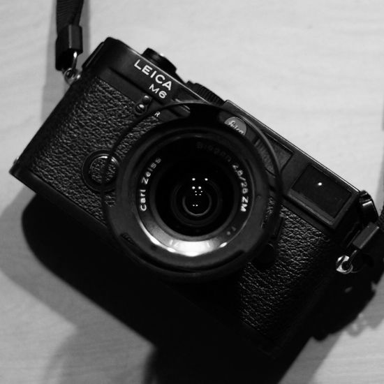 My Leica M6 is