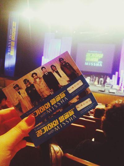 장기하와 얼굴들 콘서트!!!