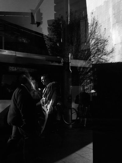 Monochrome Photography Streetphotography_bw Refelections Illuminated