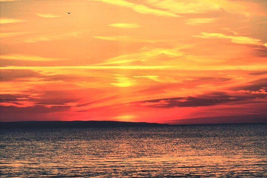 Sunset_collection Sunset Sea Clouds Sky Orange Sky Purplesky Burnham On Sea Night Sky Dusk Dawn Beautiful Nature