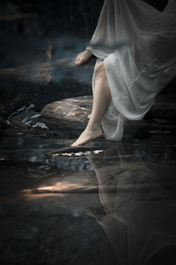 black river low section water human leg barefoot Taking Photos Taking Pictures River Riverside Nature Nature Photography Nature_collection Getting Inspired Getting Creative Eye4photography  Dress Beautiful Beauty In Nature Freshness Still Life Lifestyles Low Section Water Human Leg Standing Close-up Leg
