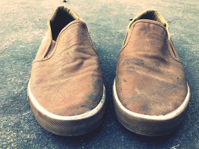 Shoe High Angle