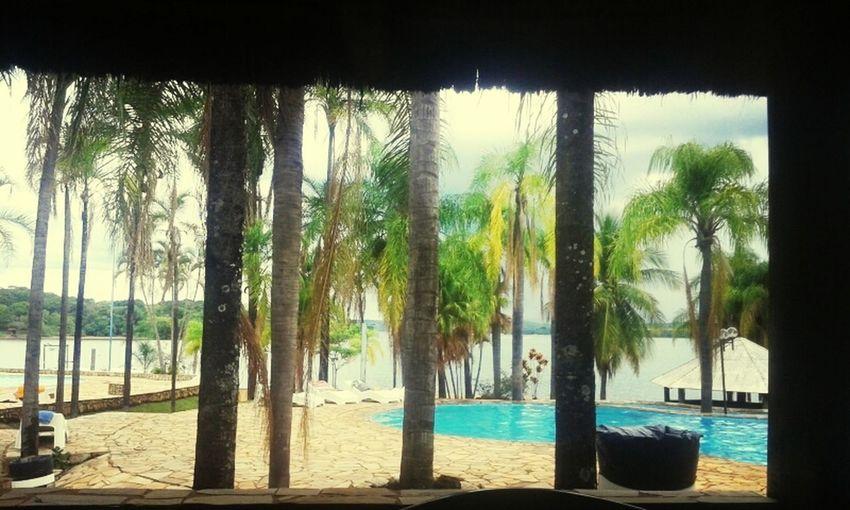 Isso é O Brasil Relaxing Piscina Coqueiros