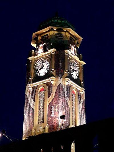 Clock tower at