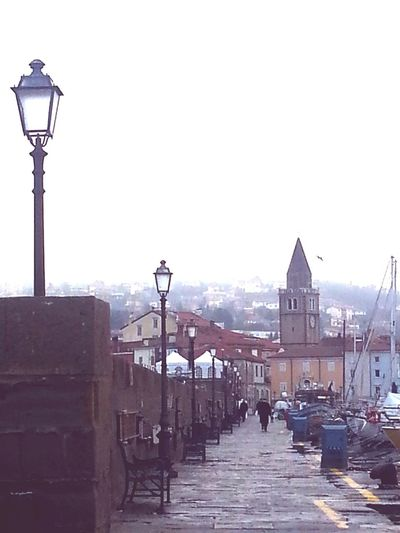 Pastel Power Muggia Samsung Galaxy S3 Cloudy Muja Porto Taking Photos Mare Molo Nebbia Fog Foggy Morning