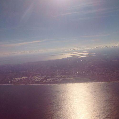 Salvador, Bahia. Brazil Airplane View