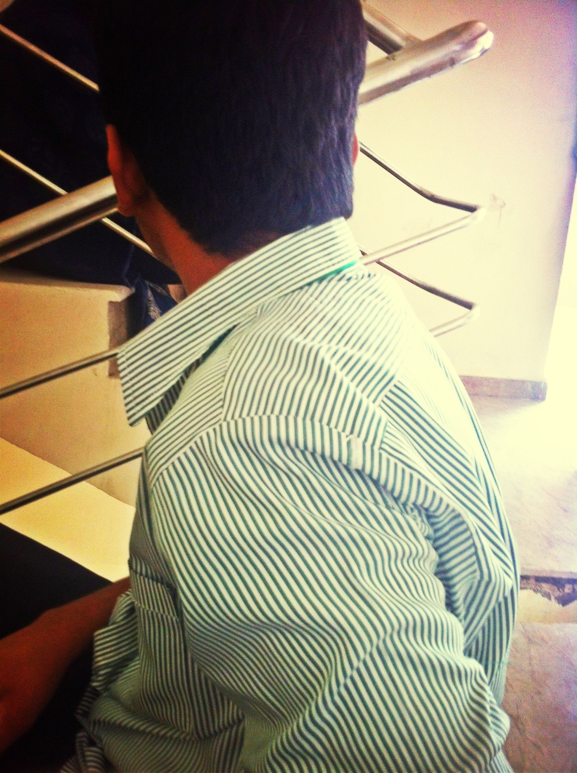 indoors, lifestyles, men, low section, leisure activity, part of, unrecognizable person, person, high angle view, midsection, casual clothing, shadow, standing, close-up, sunlight, music