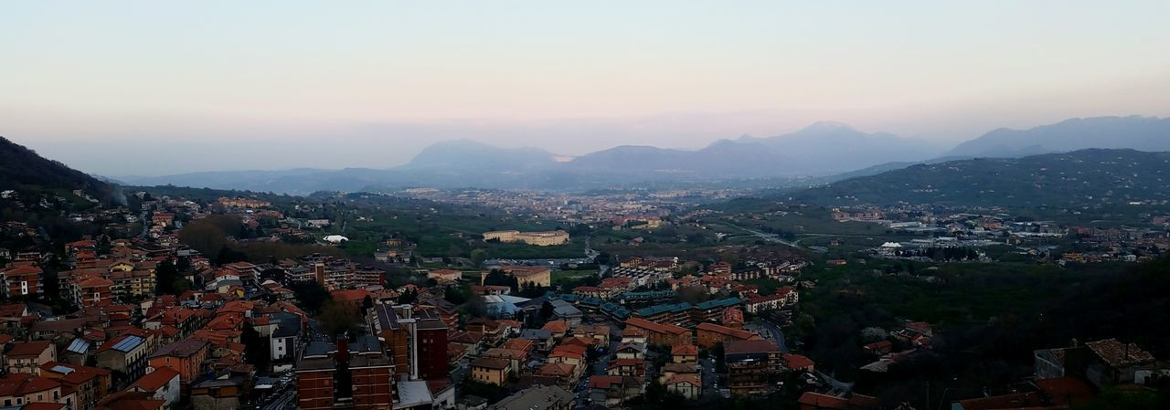 Avellino Architecture Night Mountain City Social Issues Travel Fog Travel Destinations Cityscape Sky Built Structure Sunset Mountain Range Outdoors Business Finance And Industry Building Exterior Urban Skyline Cloud - Sky Landscape Nature