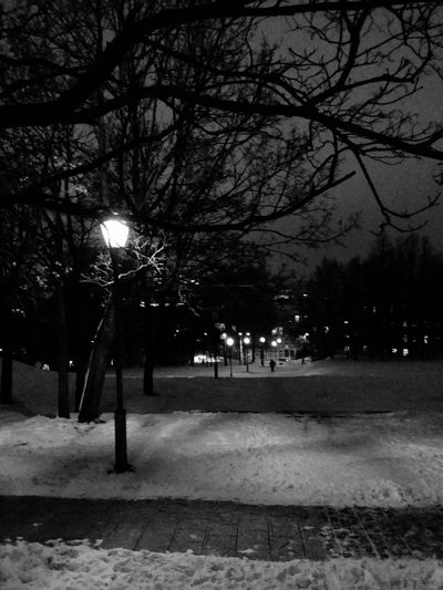 long way round EE_Daily: Black And White Stairporn Lightporn Night Walk Night Lights Monochrome Blackandwhite Winterwonderland Streetphoto_bw Vilnius