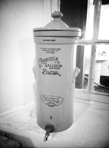 Antique Waterfilter Black&white
