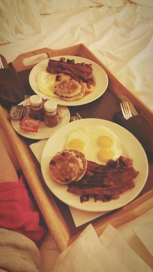 Breakfast Breakfastinbed Sheraton Girlswithgluten HubbyTime