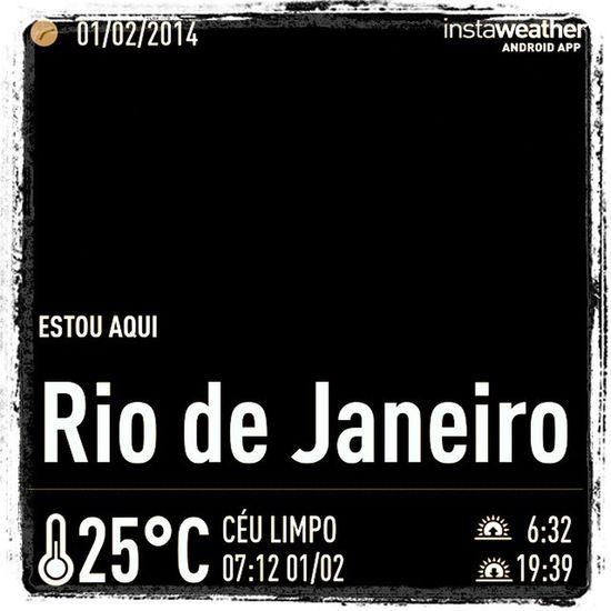 Hoje promete hein? Rio 40°c, cidade maravilha purgatório da beleza e do caos........Bom dia