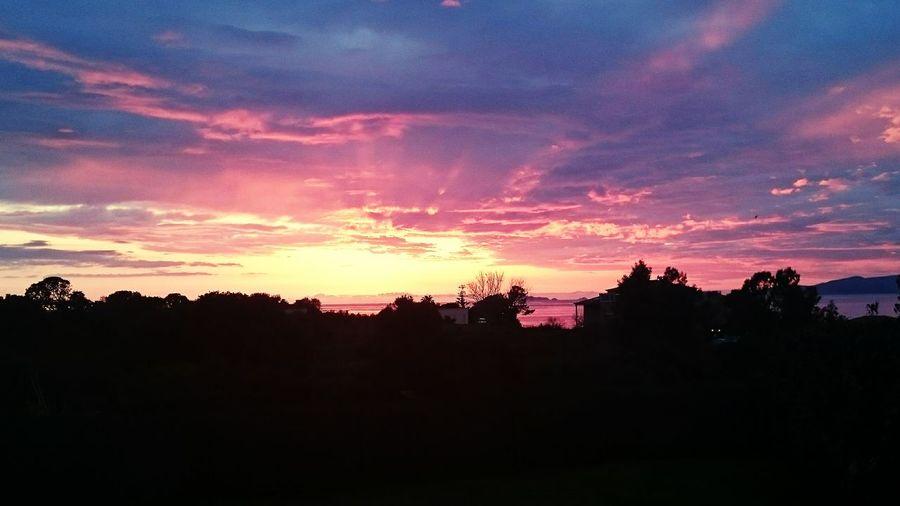 Nature corse coucher de soleil magnifique