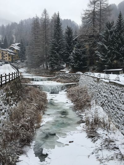 Winter Nature Water Frozen Frozen Lake