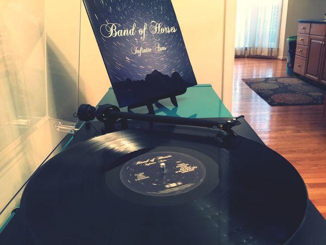 Nowspinning Vinyl Bandofhorses Nowplaying Infinitearms