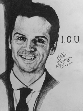 Hanging Out Taking Photos Enjoying Life Portrait Draw Awesome_shots Like A Boss Blackandwhite Drawings Face ArtWork Drawingtime Artistic Photo Pencil Drawing Drawingwork Hello World My Drawing Art Check This Out B&W Portrait Moriarty Sherlockbbc BBC Artistic Pencilart