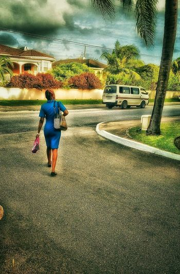 End Of The Day End Of Shift Woman Power Woman Portrait Woman Walking Going Home Going The Distance Wonderful Hello World Outside Photography Check This Out Color Portrait Nature Beauty Up Close Street Photography Young Women Young Adult