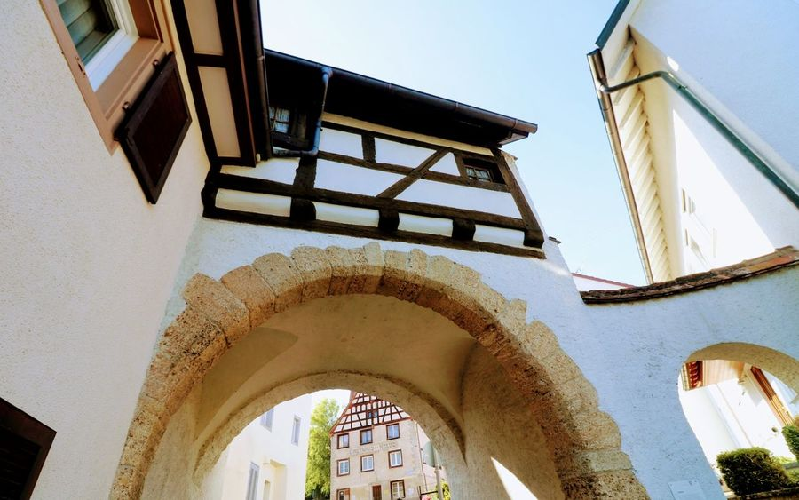 Stadttor in Blumenfeld Stadttor Autumn Nature Photography Architecture Built Structure Building Exterior Roman Numeral Historic