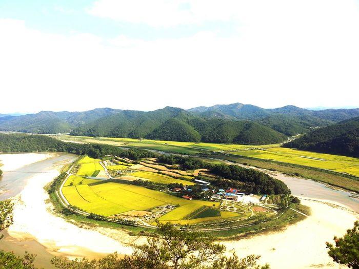 예천 회룡포 River View Relaxing Picnic Enjoying Life