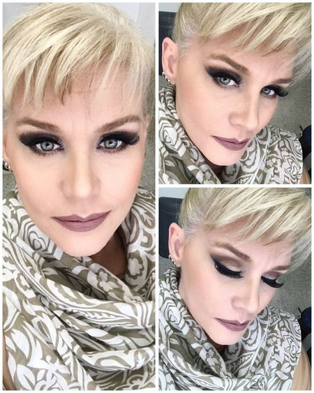 Working Makeup Tvhostess Lovemyjob Close-up That's Me! ErikaFaltin💫 Real People Blonde Happy Koisas De Kinha