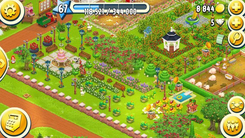 My farm on hayday game