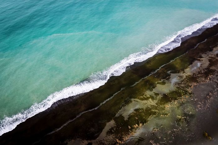 Outdoors EyeEm Best Shots Photooftheday Newzealand Mavic Pro The Great Outdoors - 2018 EyeEm Awards Water Wave Sea Motion Beach High Angle View Sky Coast Surf Shore Sandy Beach Seashore