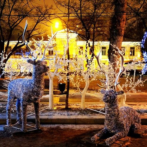 тверской бульвар Christmas Moscow