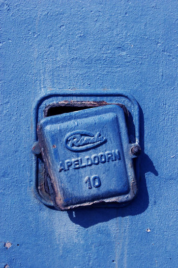 Feeling Blue Blue Broken Close-up Day Fresh On Eyeem  Metal Metallic No People Old Old Buildings Old Electric Cover Old Electric Works Security Still Life