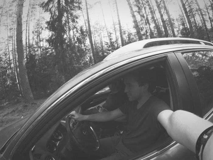 Sound Of Life Forest Nature Monochrome Blackandwhite KCH_Whitehouse Green Amazing Road
