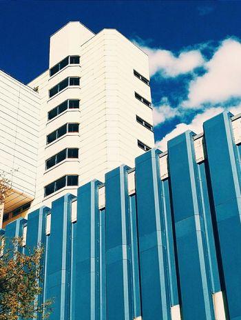Scales of the serpent. Schlange  Wilmersdorf Brutalism Minimalism Architecture Architectural Detail Blue BYOPaper!