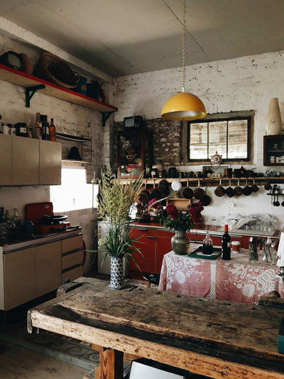 Indoors  Domestic Kitchen Kitchen No People Furniture Day Architecture_collection Growth Retro Styled Freshness Full Length EyeEmNewHere EyeEm Best Edits Full Frame Masterclass Tranquil Scene EyeEm Best Shots EyeEm Masterclass Master_shots Greenhouse Home Showcase Interior Plant Indoors  Tranquility Scene Old-fashioned