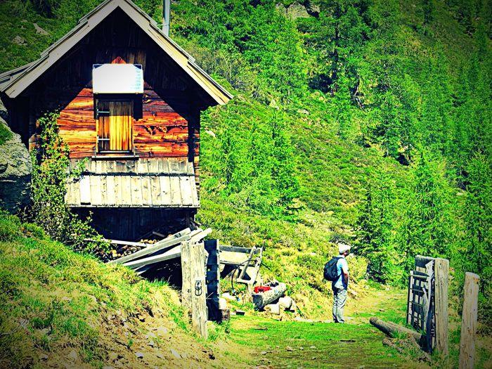 Vanishing Point That's Me Taking Photos Hiking Wandern Berge Mountains Nature Natur