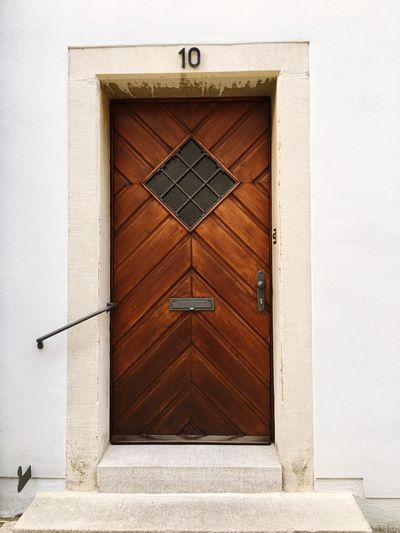 Door Safety Wood - Material Protection No People Architecture Built Structure Day Outdoors Building Exterior Close-up