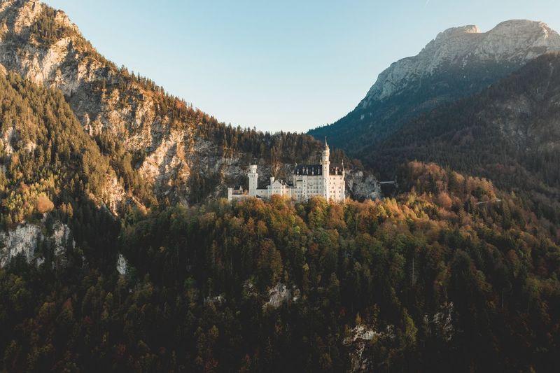 Neuschwanstein castle Castle Neuschwanstein Mountain Nature Beauty In Nature Landscape Outdoors